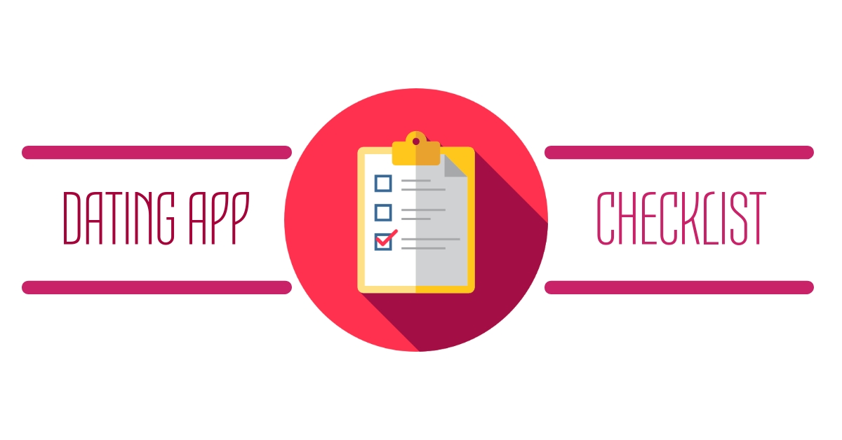 dating app checklist