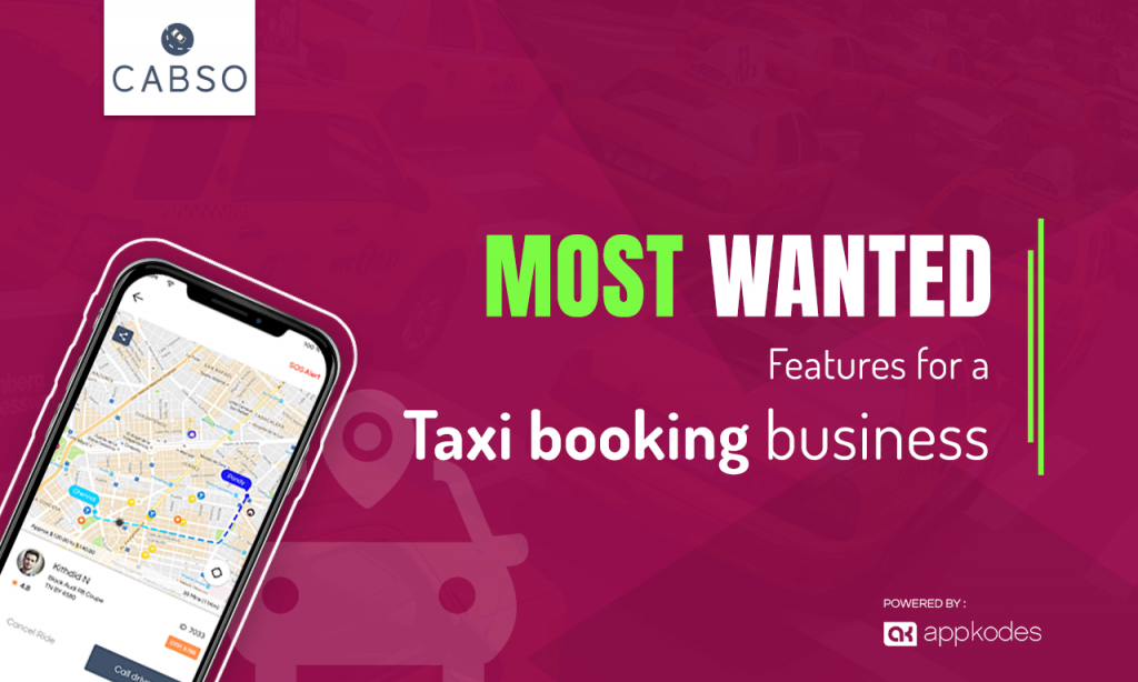 most wanted taxi booking business