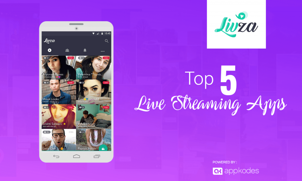 top live streaming business