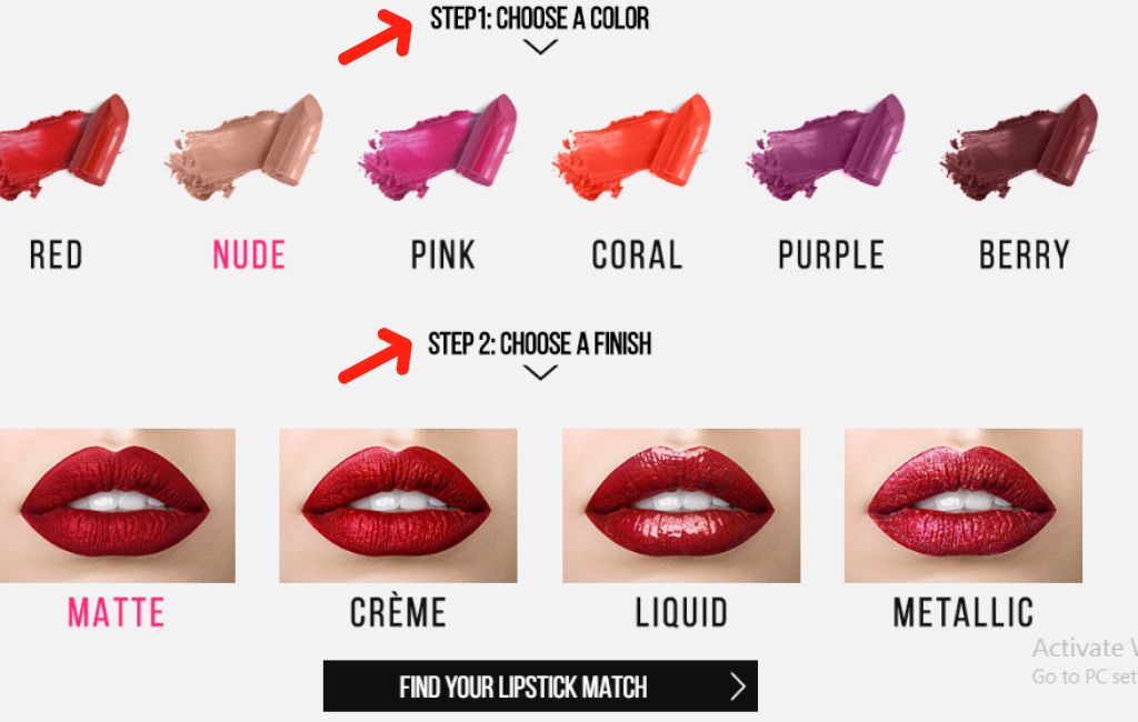 skin tone preferrance in fashion ecommerce online 2019