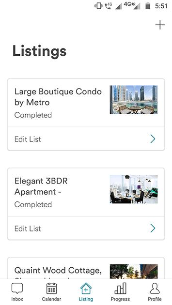 airbnb clone app full listing