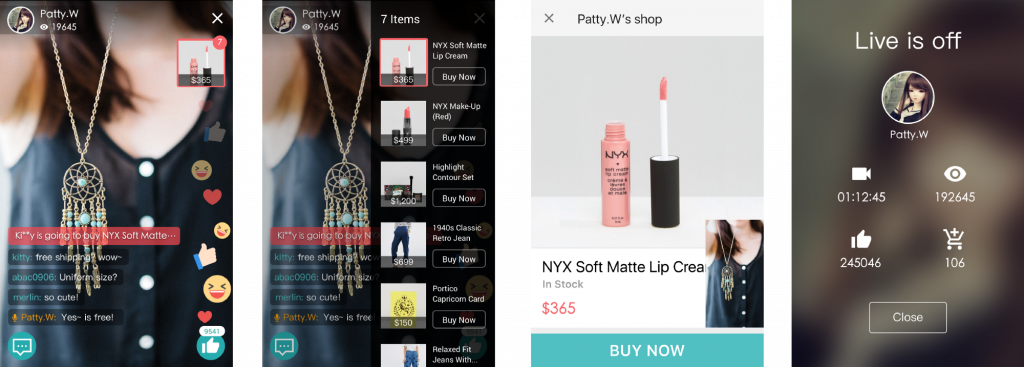live eCommerce platform