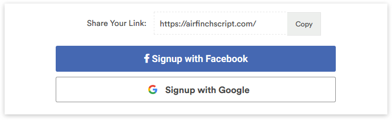 airbnb clone script - social login