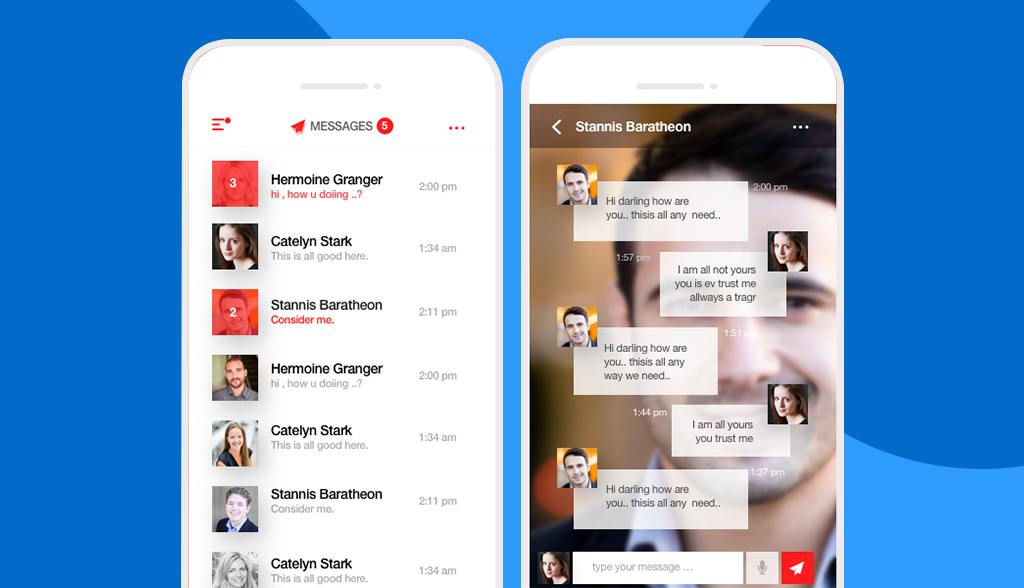 attractive-instant-messaging-