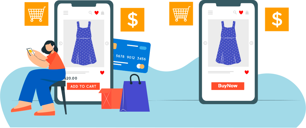 Online platform with best shopping options