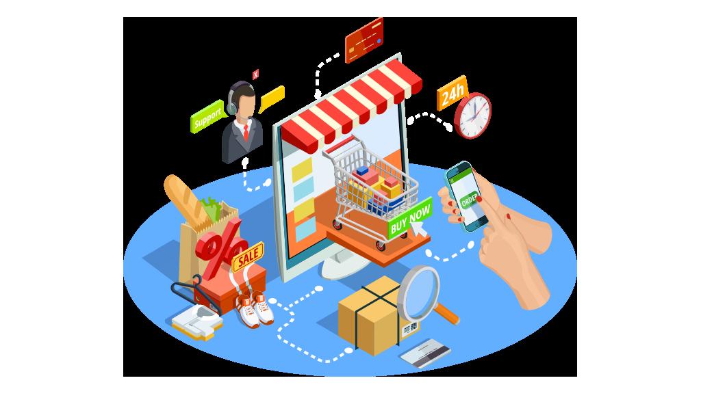 Online platform providing convenient shopping experience