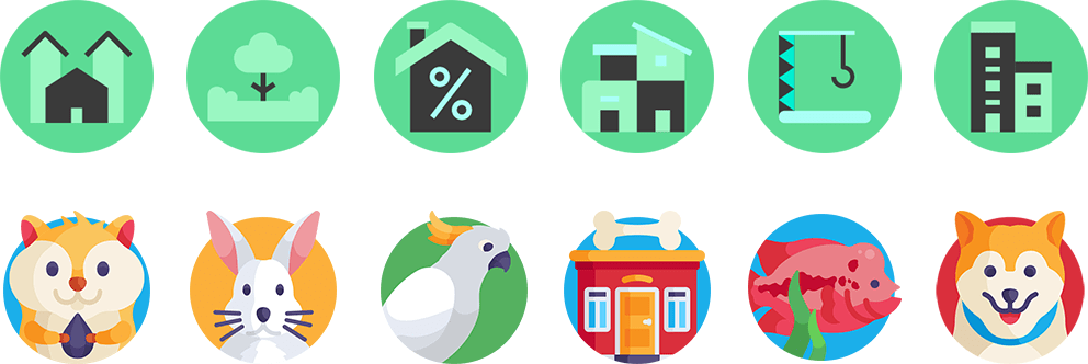 Category icon design